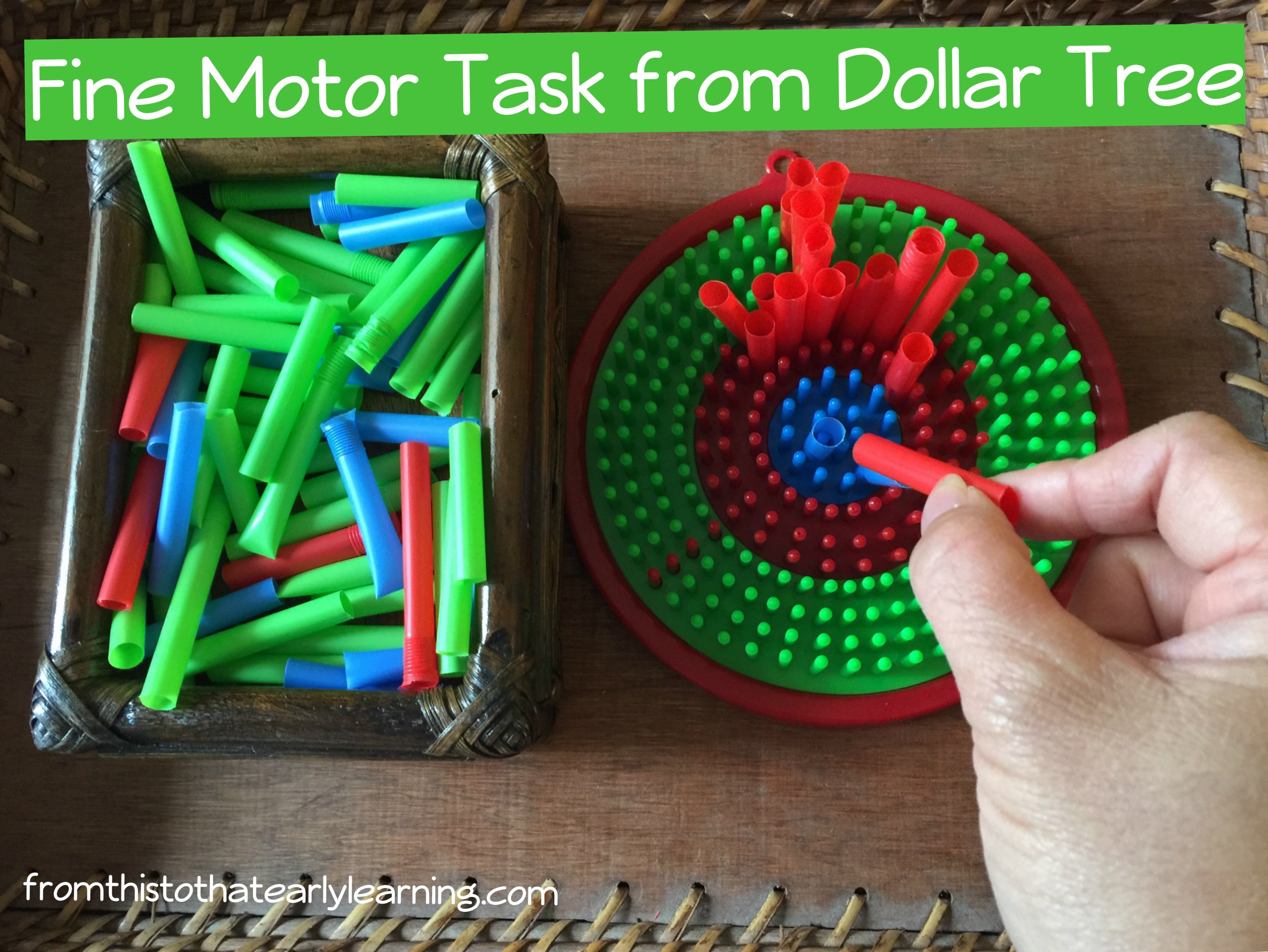 10 Dollar Tree Learning Activities for Children – Part 3 – From This ...